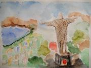 Jesus over Rio.