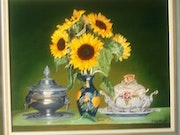 Sunflower Bouquet. M. Machin