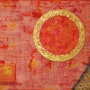 Art deco yellow, orange. M. T. G
