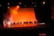 Buste de femme en clair-obscur.. Anny Chapon