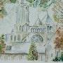 Kathedrale von Laon. Aquan