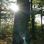 Pic de menhir Javerdat. Elfi