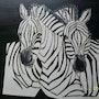 Feliz ama cebras. Annie Verdegen