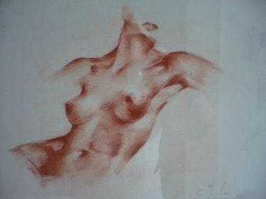 Mujer desnuda. Ca