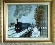Der Prozess der Normandie, Kopie von Claude Monet. Colette Trôme