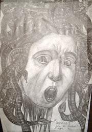The Head of Medusa. Magic-Xin
