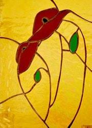 Poppies bottom Iridescent Duo…. Martine Dugue