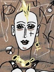 Desagradable Punklady - limitada gráfico original - Jacqueline_Ditt.
