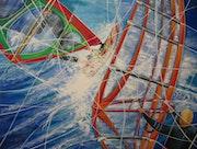 Windsurfen - Kraftlinien im Spiel mit den Elementen.
