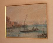 Deux aquarelle de Crapelet. Pierre Fargier