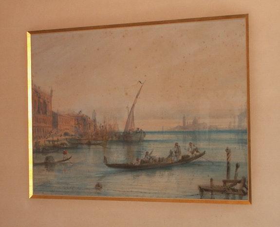 Deux aquarelle de Crapelet. Crapelet Pierre Fargier
