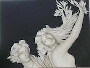 Daphne and Apollo.