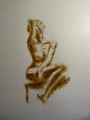 Naked. Jean-Michel Vallet