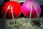 Les parapluies de Craponne. Galerie Mikaleff-Bajat