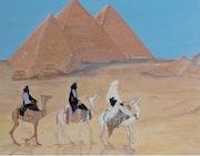 The trinity of pyramids.