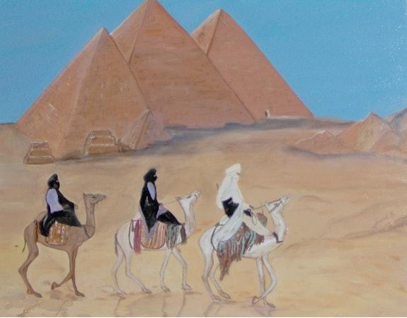Die Dreiheit der Pyramiden. Sybille Girard Sybartiste