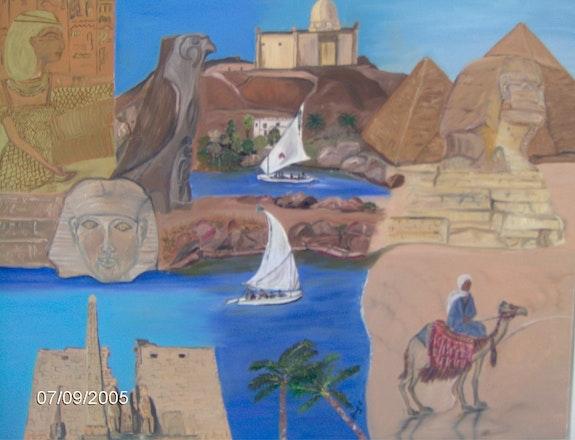 Die Magie von Ägypten. Sybille Girard Sybartiste