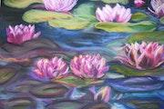 My lily pond.