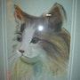 El pastel de gato en el papel. Jocelyne Geraerts