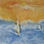 Windsurfistas. Christian Quénel