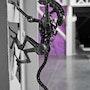 Alien Metal Estatua derivados. David Guilbert