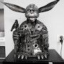 Estatua de Yoda. David Guilbert