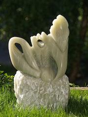 Sculpture pierre stéatite.