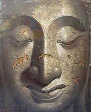Eternity Portrait of Bouddha. Beautifulart