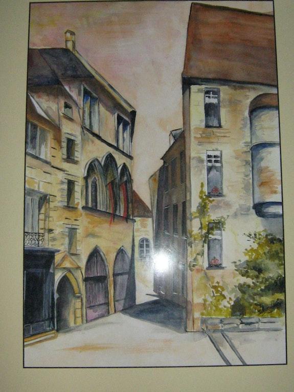 A street in Sarlat. Daniele Jondeau Dany
