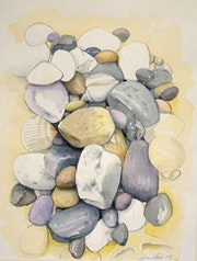 Guijarros en la playa. Imagine Arts