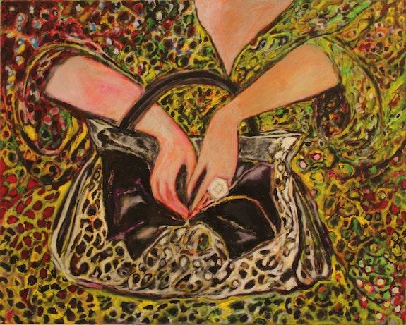 La vida está en la bolsa.  Paintingsmarierossin