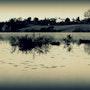 Pêcheur à l'étang. Val Gerbaud