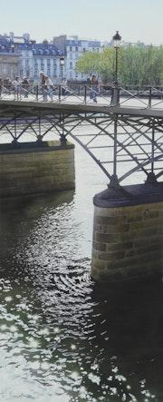 Resplandece bajo el Pont des Arts. Thierry Duval