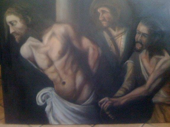 Jesús en la hoguera. Josse Joel Cho