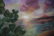 Sonnenuntergang in Bandol .... Harry Cott