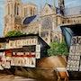 Notre Dame et ses bouquinistes. Houmeau