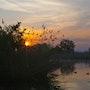 Lever du soleil au lac au printemps. Ark-Photographie