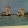 El puerto de La Rochelle «día». Ann Carole Fletcher