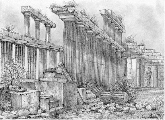 Paestum. Jean-Marie Andrieu Jean-Marie Andrieu