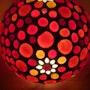 Lampe de table fleur. Diana Rosa Scholl