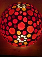 Blümchen Tischlampe. Diana Rosa Scholl