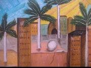 Ciudad - visión surrealista de una ciudad. Mercedes Muñoz Garcia
