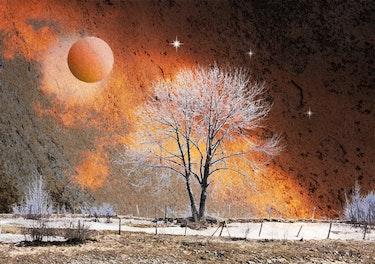 Spooky Landschaft 1. Max Parisot Du Lyaumont