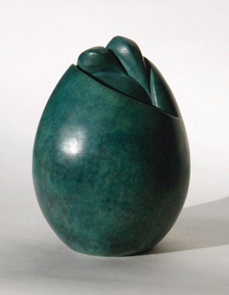 Ihre letzte Ei, Bronze Original Print 3 / 8. Flore De Valicourt Flore De Valicourt