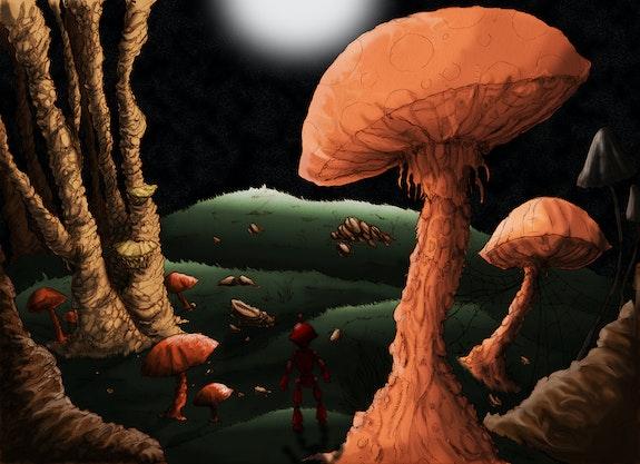 Ilustración forestales. T. Cazzola Cazzola
