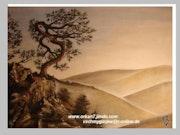 «Sonne Eingang «Original Bild (Unikat).