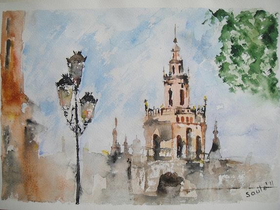 Sevilla, Spain. Saule Saule Abdramanova