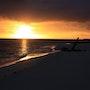 Puesta de sol en Madagascar.. Byby