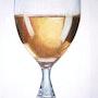 Glas Weißwein. Diana. K