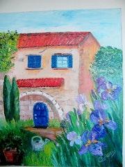 La maison aux iris.